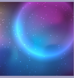 galaxy background in deep colors vector image