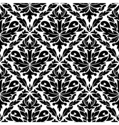 Seamless pattern in damask style vector image vector image