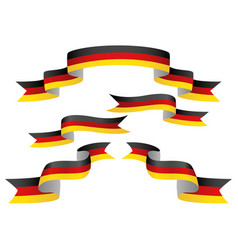 Set of germany insignia in different shape of vector