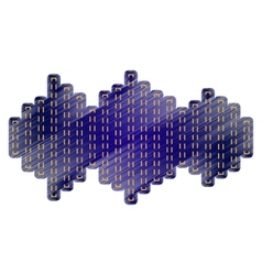 Sound waves icon vector image vector image