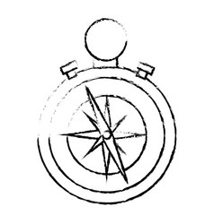 Compass navigation tool vector