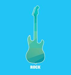 Diamond guitar vector