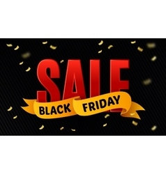 Black friday sale design template sale vector