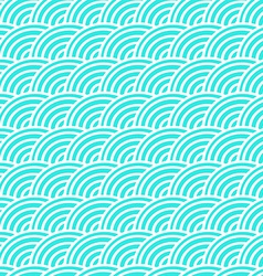 Curved lines in a seamless pattern vector image vector image