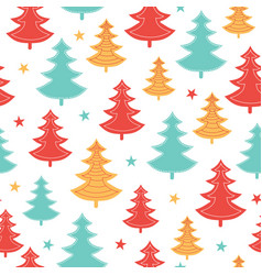 Green yellow red scattered christmas vector
