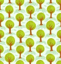 Trees pattern vector