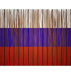 grunge russian flag Eps10 vector image vector image