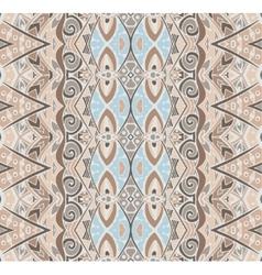 Seamless pattern ethnic tribal vector