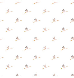 stork pattern seamless vector image vector image
