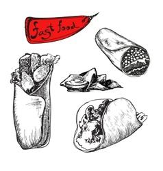 Burrito vector