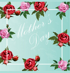 happy mother s day vector image vector image