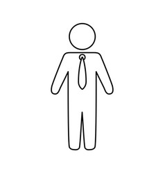 Man pictograms symbol vector