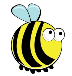 Springtime bumblebee vector