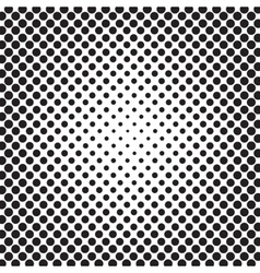 Abstract Pop Art Dotted Pattern vector image