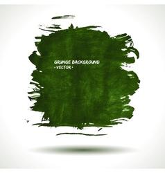 GREEN GRUNGE SHAPE vector image