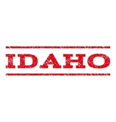 Idaho watermark stamp vector