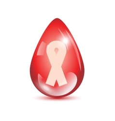 Aids sign icon vector