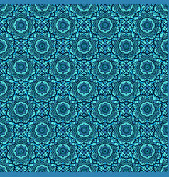 Colorful mosaic seamless pattern background vector