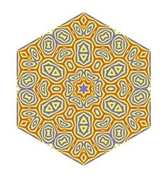 Ornamental Pattern Creative Decorative Symbol vector image