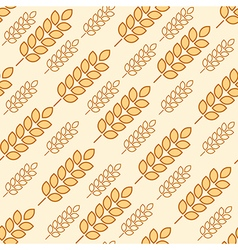 wheat seamless2 vector image