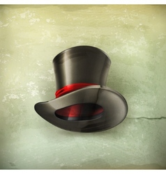 Cylinder hat old style vector