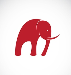 image of an elephant design vector image