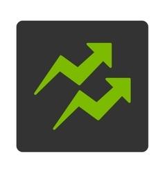 Trends icon vector