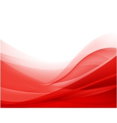 Abstract red wavy background wallpaper vector
