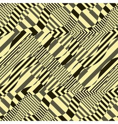 ornate striped background vector image vector image