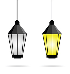 Street light vector