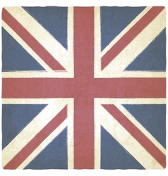 Union Jack old background vector image vector image