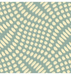 Altered polka dot print vector