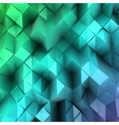 Blue triangle abstract vector image