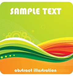 Bright abstract vector