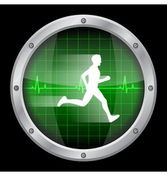 running man 2 vector image