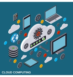 Cloud computing remote control data storage vector