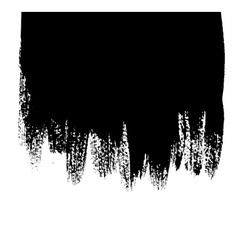 Black background with paint drips vector