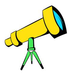 Telescope icon icon cartoon vector