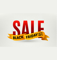 Black friday sale design template sale banner vector
