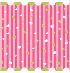 Cute seamless pattern with little hearts vector