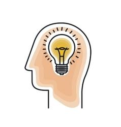 profile human design vector image