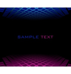 red blue halftone background vector image vector image
