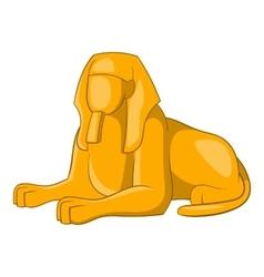 Sphinx icon cartoon style vector