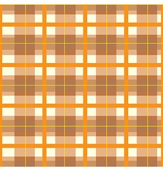 Modern Orange Plaid Pattern vector image