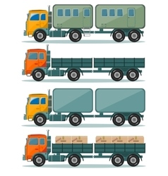 Truck icons vector