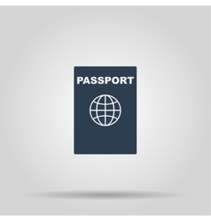 Passport icon concept for vector