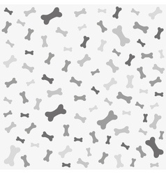 Bone for dog seamless texture vector image vector image