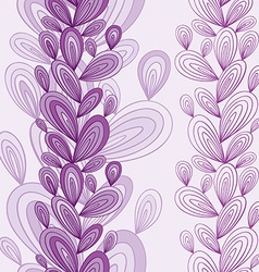 Exotic floral seamless pattern vector image vector image