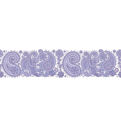 Sampless pattern blue vector image vector image