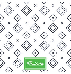rhombus stripped seamless pattern vector image